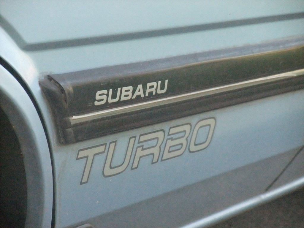 1986 Subaru GL-10 Turbo